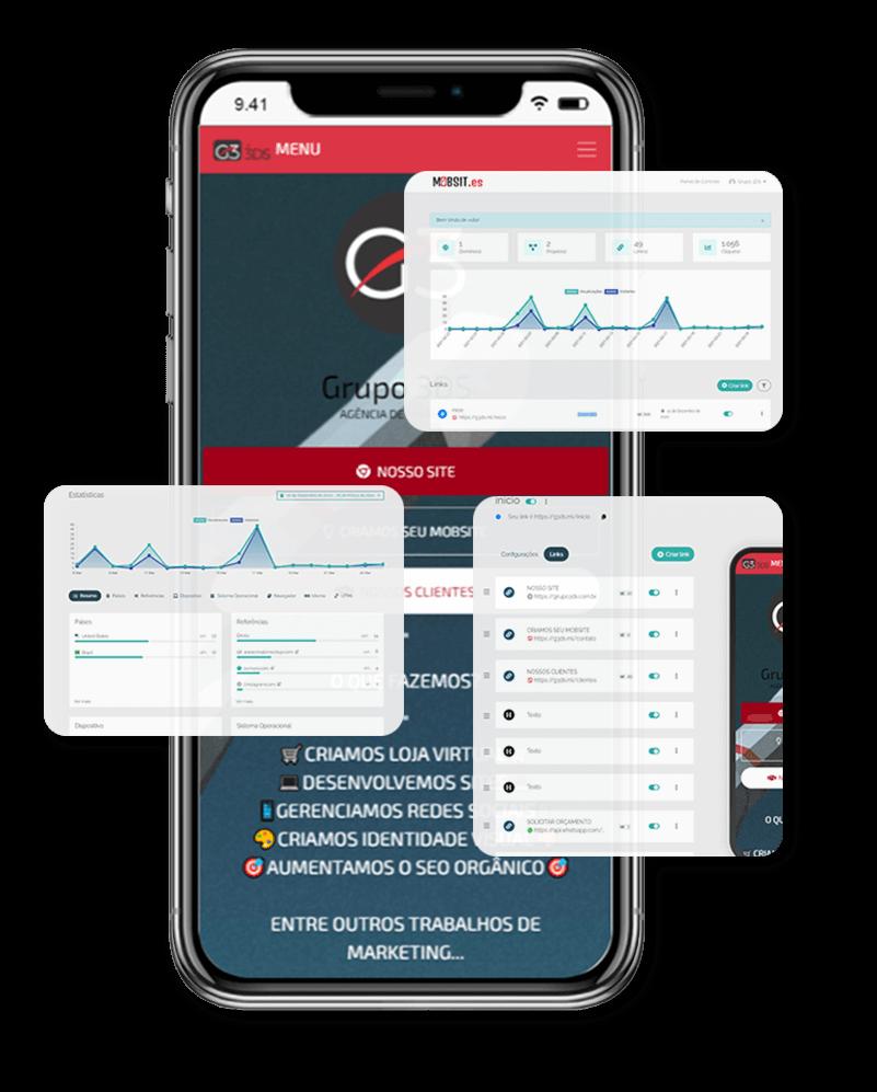 MOBSIT.es - (31)99476-6077 | Criação de Site Criação de Loja Virtual já pronto pra divulgação/venda de produtos/serviços. Link exclusivo, painel admin e + de 80 recursos web.